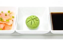 Assaisonnement pour des sushi Photo libre de droits