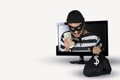 assaltante Imagens de Stock Royalty Free