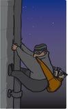 assaltante ilustração do vetor