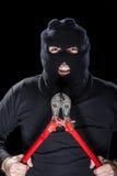Assaltante assustador Imagem de Stock Royalty Free
