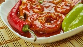 Assam-Fischcurry lizenzfreie stockfotos