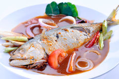 Assam Fish Malaysia Food Royalty Free Stock Image