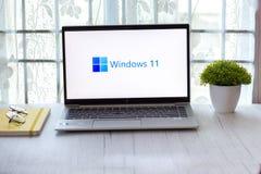 Free Assam, India - June 17, 2021 : Windows 11 Logo On Laptop Screen Stock Image. Royalty Free Stock Image - 222102446