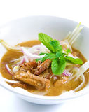 Assam laksa Royalty Free Stock Photos