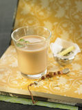 Assam tea with herbs and black pepper Royalty Free Stock Images
