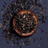Assam-Tee-Blätter lizenzfreie stockfotografie