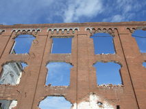 Assan Mill ruins Royalty Free Stock Images