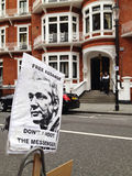 Assange bezpłatny znak Obraz Royalty Free