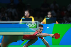 Assar Omar at the Olympic Games in Rio 2016. Assar Omar from Egypt at the Olympic Games in Rio 2016 Stock Photography