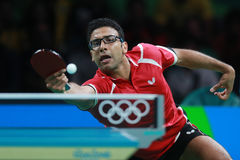 Assar Omar at the Olympic Games in Rio 2016. Assar Omar from Egypt at the Olympic Games in Rio 2016 Stock Images