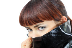 Assassin's eyes Stock Photo