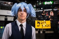 `Assassination Classroom` cosplay Stock Image