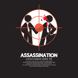 Assassination Looking Through A Sniper View Royalty Free Stock Image