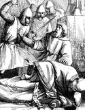Assassination of Thomas a Becket Royalty Free Stock Image