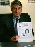 Assassinato de Florence Denefle na Guatemala Foto de Stock