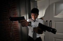 Assassino 112 dell'agente Fotografia Stock Libera da Diritti