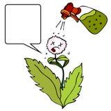 Assassino de Weed ilustração royalty free