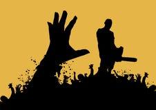 Assassino 5 dello zombie Fotografie Stock
