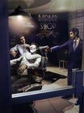 Assassino do barbeiro ilustração stock