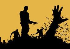 Assassino 6 do zombi Foto de Stock Royalty Free