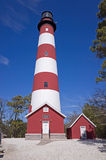 Assateague Island Lighthouse Stock Photo