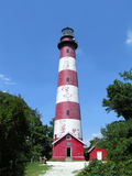 Assateague Lighthouse 1. Assateague Lighthouse in the summertime Royalty Free Stock Photography
