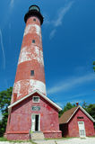 Assateague Lighthouse Royalty Free Stock Images