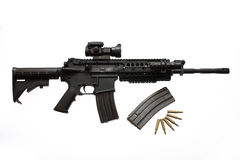 Assault rifle Royalty Free Stock Image