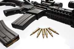 Assault rifle Royalty Free Stock Images
