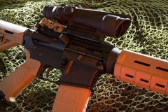 Assault rifle Royalty Free Stock Photography