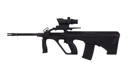 Assault rifle Stock Photography