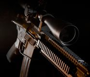 Assault rifle Stock Image