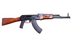 Assault rifle AK-47 Stock Images