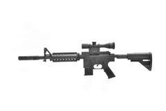 Assault rifle. royalty free stock image