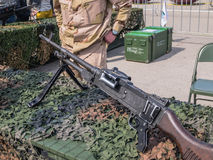 Assault rifle Dutch military Stock Images
