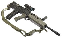 Assault rifle L85 Stock Images