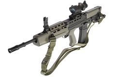 Assault rifle L85 Stock Photos