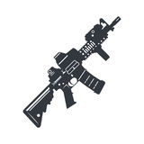 Assault rifle vector Stock Photos