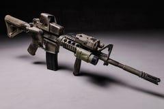 Assault rifre Stock Photo