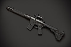 Assault semi-automatic rifle Royalty Free Stock Photos