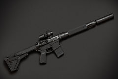 Assault semi-automatic rifle Royalty Free Stock Photo