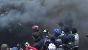 Assault stock video footage