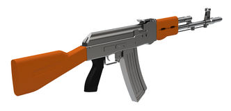 Assault weapon Royalty Free Stock Images