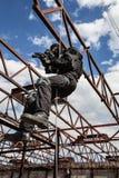 Assaut de Rappeling Photo libre de droits