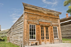 Assay Office. One of the first and most important buildings in the mining town of Bannack, Montana, the Assay Office was built over a century ago. It also served stock photography