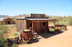USA, Arizona: Old West - Assay Office Stock Photography