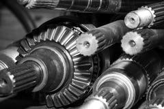 Asse della trasmissione automatica dell'automobile fotografia stock libera da diritti