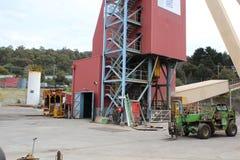 Asse di miniera di Beaconsfield Fotografia Stock