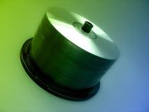 Asse di rotazione CD immagine stock