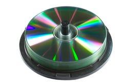 Asse di rotazione CD Fotografie Stock
